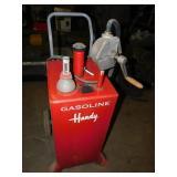 HANDY BRAND 30 GALLON GAS CADDY-NEEDS DAIPHRAGAM