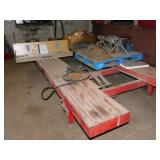 FRAME STRAIGHTENING RACK TABLE & ACCESSORIES