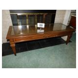 HEKMAN GLASSTOP COFFEE TABLE