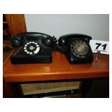 (1) OLD & OTHER ROTARY DIAL PHONES