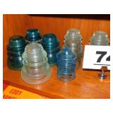 LOT OF INSULATORS