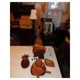 WOODEN DECORATIVE LOT