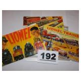 LIONEL BOOKS & INSTRUCTIONS