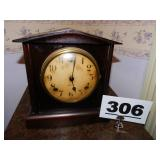 OLD GILBERT MANTEL CLOCK