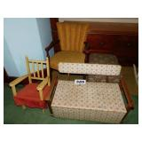 TOY BOX & CHAIRS
