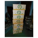 (7) QUAKER STATE MOTOR OIL BOXES