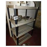 4 SHELF - SHELVING UNIT