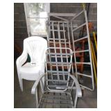 STACKING CHAIRS  & PORCH CHAIRS