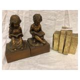 2 Sets of Book Ends