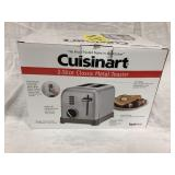 Cuisinart 2-Slice Classic Metal Toaster, open box,