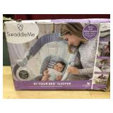 Swaddle Me By Your Bed Sleeper, open box