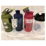 4 Blender Bottles
