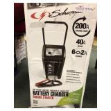 Schumacher Battery Charger, 200 Amp