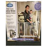 Walk Safe Extra Wide safety gate, new in box