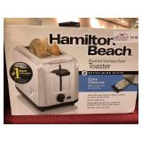 Hamilton Beach Brushed Stainless Steel Toaster,