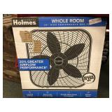 "Holmes Whole Room 20"" Box Fan, Open Box,"