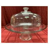 "High Standard Cake Stand and Cover, 10""h"