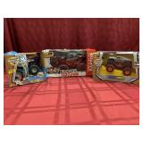 3 Items - R/C Truck - Ford F-150 Raptor;