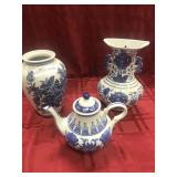 "Three assorted pieces of China ""Formalities"" by"