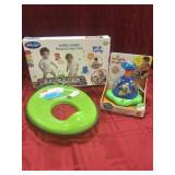 Three assorted toddler toys