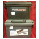 Two ammo boxes: Bunker Hill and Range Maxx
