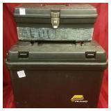 2 ammo boxes, DuraBull and Plano