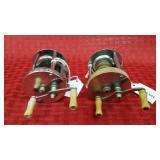 2 Bait casting reel Horrocks: IBBOTSON Co. Utica,
