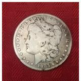 1833 Liberty Silver Dollar