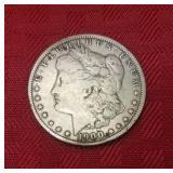 1900 Liberty silver dollar