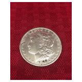 1889 Liberty Head Silver Dollar