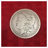 1900 Liberty Head Silver Dollar