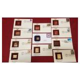 11 Postal 1st Day Covers