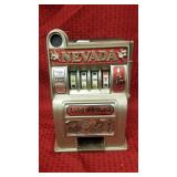 Bonanza Cast metal bank in original box