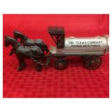 Die-cast Texaco horse and Tanker