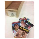 4 Baseball Card Sets. Topps 1986 and 1987, Fleer