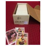 3 Baseball Card Sets. One 1981 Donruss, one 1989