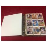 Collection of baseball cards. 57 pages of modern
