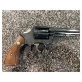 """Smith and Wesson, model 10-b, 38 special with 4"""""""