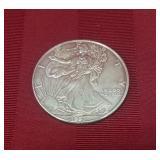 1 oz. Fine silver walking Liberty commemorative