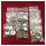 60 Foreign coins