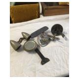 old auto mirrors and parts
