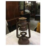 rusty Beacon lamp