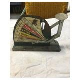 antique egg scale from local farm