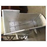 antique crib rocker from east coast