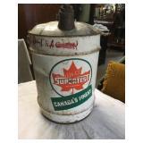 5 gallon Supertest can