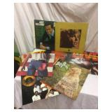 LOT, about 100 old LP records