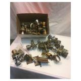 LOT, old door sets and hardware
