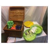 two picnic sets,