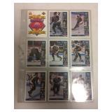 1993 all star, hockey cards, mcD