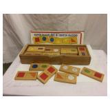 vintage wood play blocks, like Dominos